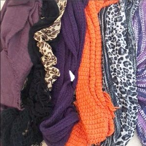 LOT 6 Scarves Charming Charlie, Cotton On & more!